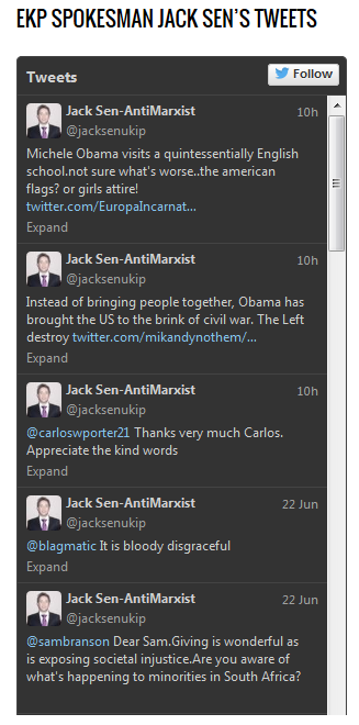 JAck Sen tweets